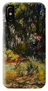 Corner Of A Pond With Waterlilies IPhone Case