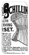 Corset Advertisement, 1887 IPhone Case