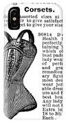 Corset Advertisement, 1895 IPhone Case