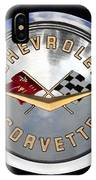 Corvette Name Plate IPhone Case