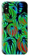 Cosmic Watermelon Leaves IPhone Case