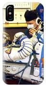 Cosmonaut Training, Soyuz Tma-8 Crew IPhone Case