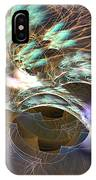 Cosmos Under Water - Fractal Art IPhone Case