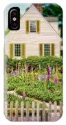 Cottage And Garden IPhone Case