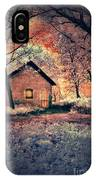 Cottage In The Woods IPhone Case
