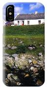 Cottage On Achill Island, County Mayo IPhone Case