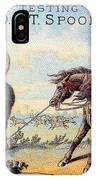 Cotton Thread Trade Card IPhone Case