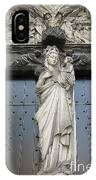 Count Your Blessings- St Mary Of Brugge- 01 IPhone Case