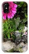 Country Flower Booties IPhone Case