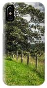Countryside With Old Fig Tree IPhone Case