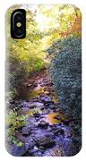Courthouse River In The Fall 3 IPhone Case