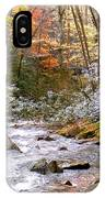 Courthouse River In The Fall IPhone Case