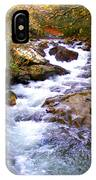 Courthouse River In The Fall Filtered IPhone Case