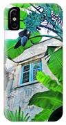 Courtyard Feelings Cafe Nola IPhone Case