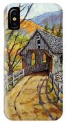 Covered Bridge 04 IPhone Case