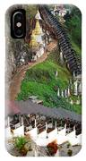 Covered Stairway To The Pindaya Caves IPhone Case