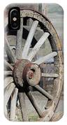 Covered Wagon Wheel IPhone Case