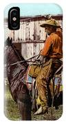 Cowboy, C1900 IPhone Case