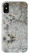 Coyote Tracks IPhone Case