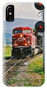 Cp Coal Train And Signal IPhone Case