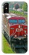 Cp Rail Engine IPhone Case