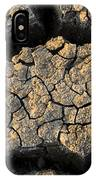 Cracked, Dried Out Mud, Mokolodi Nature IPhone Case