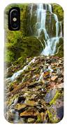 Crater Lake Waterfall IPhone Case