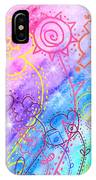 Crazy Flower Garden IPhone Case