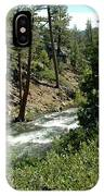 Creek Glen Alpine Creek IPhone Case