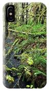 Creek In The Rain Forest IPhone Case
