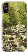 Creek Running Through The Rainforest IPhone Case