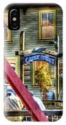 Creek Street - Ketchikan Alaska IPhone Case