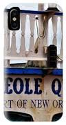 Creole Queen IPhone Case