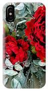 Crimson Desire IPhone Case