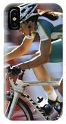 Criterium Bicycle Race 2 IPhone Case