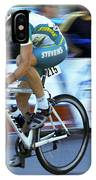 Criterium Bicycle Race 3 IPhone Case
