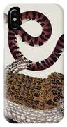 Crocodile & Snake IPhone Case