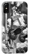 Crossing At Rt 36 13989b IPhone Case