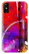 Crossing Over And Back Again IPhone Case