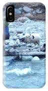 Crossing The Ourika River IPhone Case
