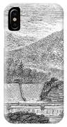 Croton Dam, 1860 IPhone Case