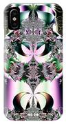 Crown And Jeweled Lotus Flowers Fractal 124 IPhone Case