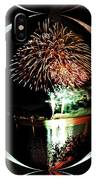 Crystal Ball Fireworks IPhone Case
