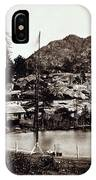 Crystal Lake And Black Butte - California - C 1865 IPhone Case