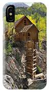 Crystal Mill 4 IPhone Case