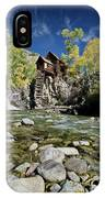 Crystal Mill In Autumn IPhone Case