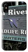 Crystal River IPhone Case