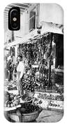 Cuba Fruit Vendor C1910 IPhone Case