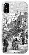 Curling, 1853 IPhone Case