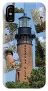 Currituck Beach Light House Station Nc Usa IPhone Case